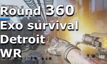 Exo Survival World Record Round 360 Detroit Suicide W/Scottiei3 + exo zombie gameplay xD