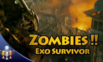 Call of Duty Advanced Warfare – Bonus Zombies Wave in Exo Survival Riot Map – Exo Survivor Trophy