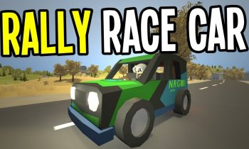 Unturned – AMAZING RALLY CAR and PAINT JOB – Greece Map Modded Survival – Ep. 24