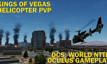 Kings of Vegas – Helicopter PVP KotH – DCS: World NTTR