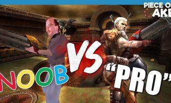 NOOB VS. PRO – QUAKE III ARENA CHALLENGE!