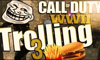 Call of Duty: WWII Trolling #3 (Eat A Cheese Burger)