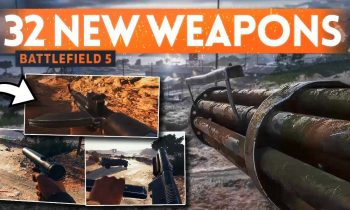 32 New UNRELEASED WEAPONS GAMEPLAY ⛏️ Battlefield 5 (Data Mine)