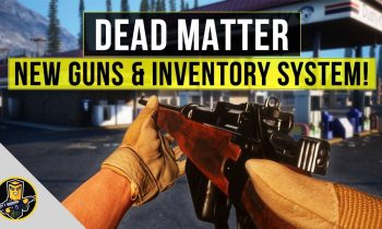 Dead Matter – New Guns and Inventory System!