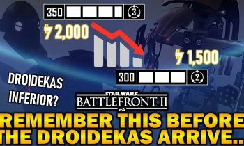 Remember This Before The Droidekas Arrive… Star Wars Battlefront 2
