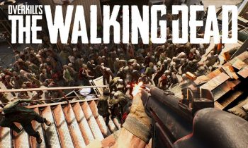 """Overkill's THE WALKING DEAD Gameplay – """"Defend the Camp!"""" (4-player Co-op Zombie Survival)"""